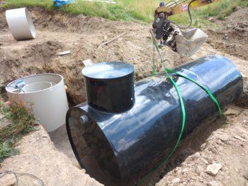 Realizace mechanicko-biologické čistírny odpadních vod s akumulační nádrží